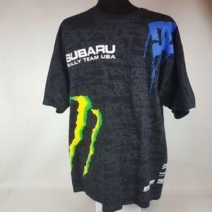 Ken Block #43 T Shirt Subaru Monster Rally Team US